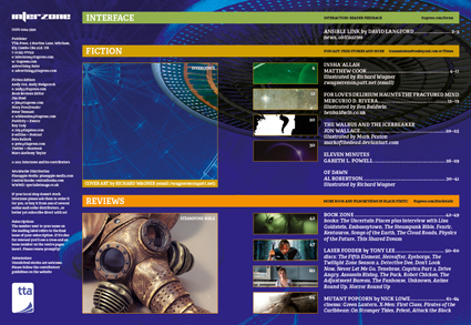 Interzone 235 Contents