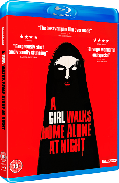 Item image: A Girl Walks Home Alone At Night Blu-ray